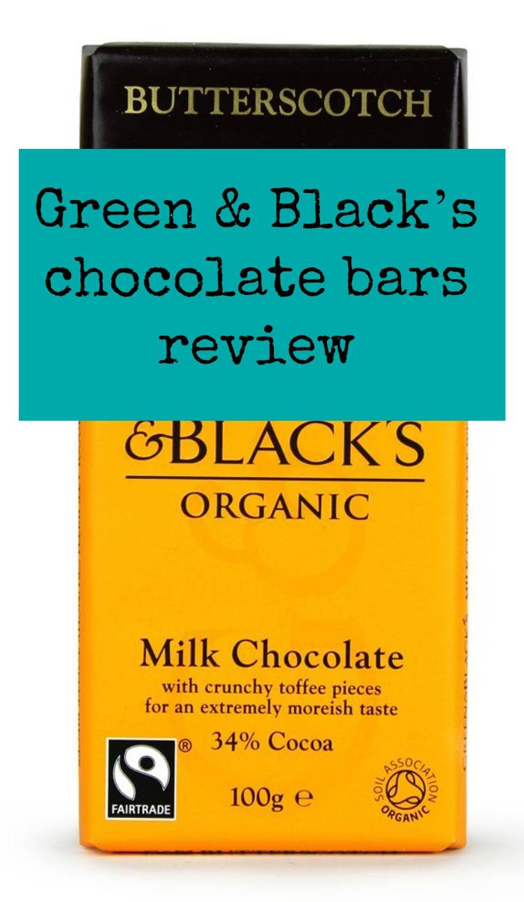 Green & Black's chocolate bars review