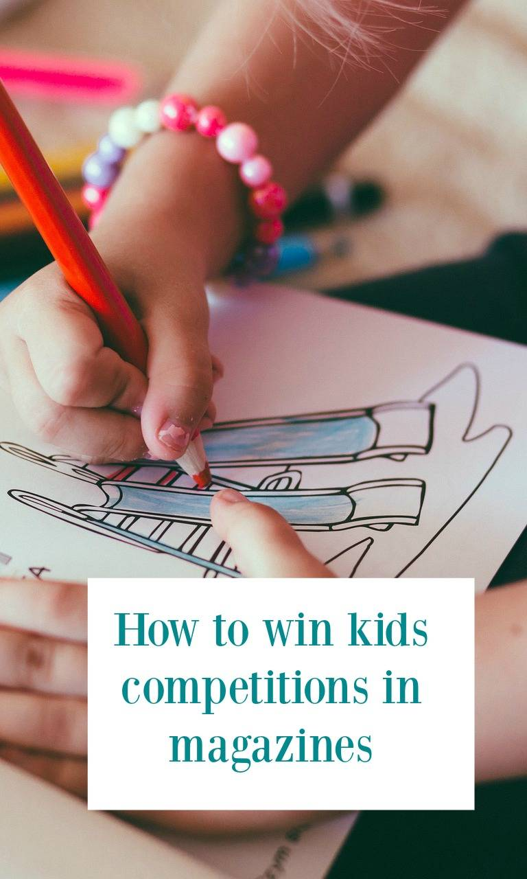 How to win kids competitions in magazines