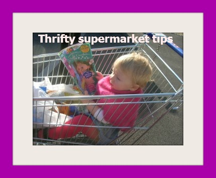 Thrifty Supermarket Shopping Tips