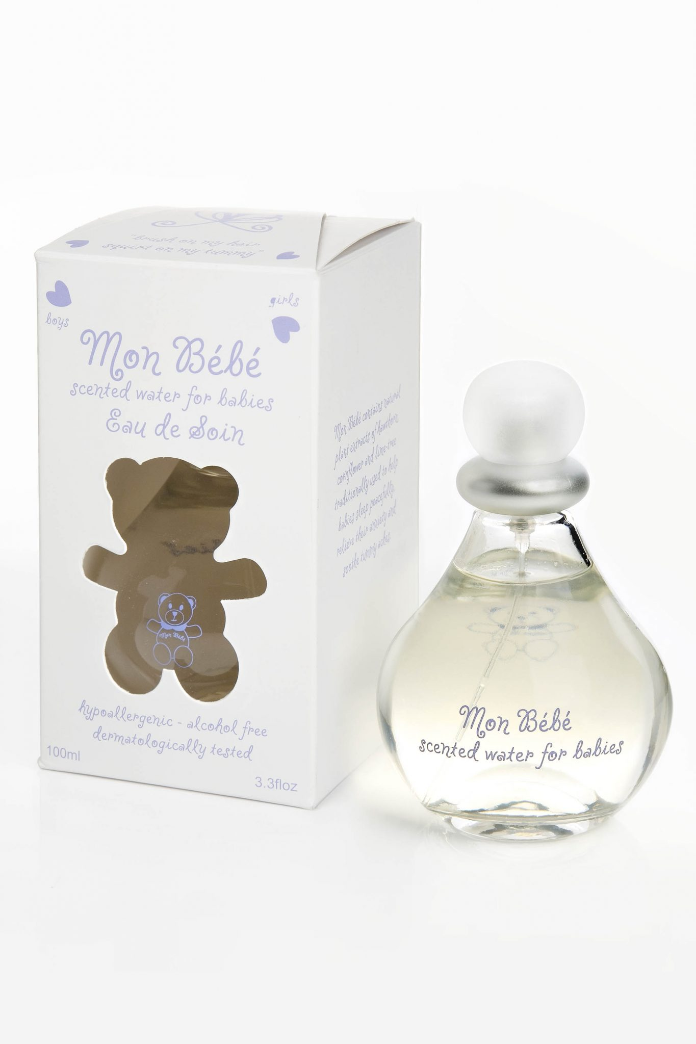 Friday competiton: Win a bottle of Mon Bebe perfume
