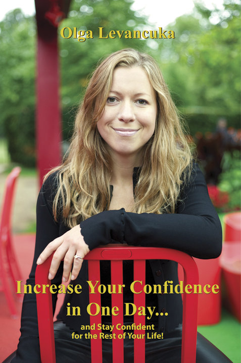 Our new sponsor: Olga Levacuka – Confidence Coach & Author