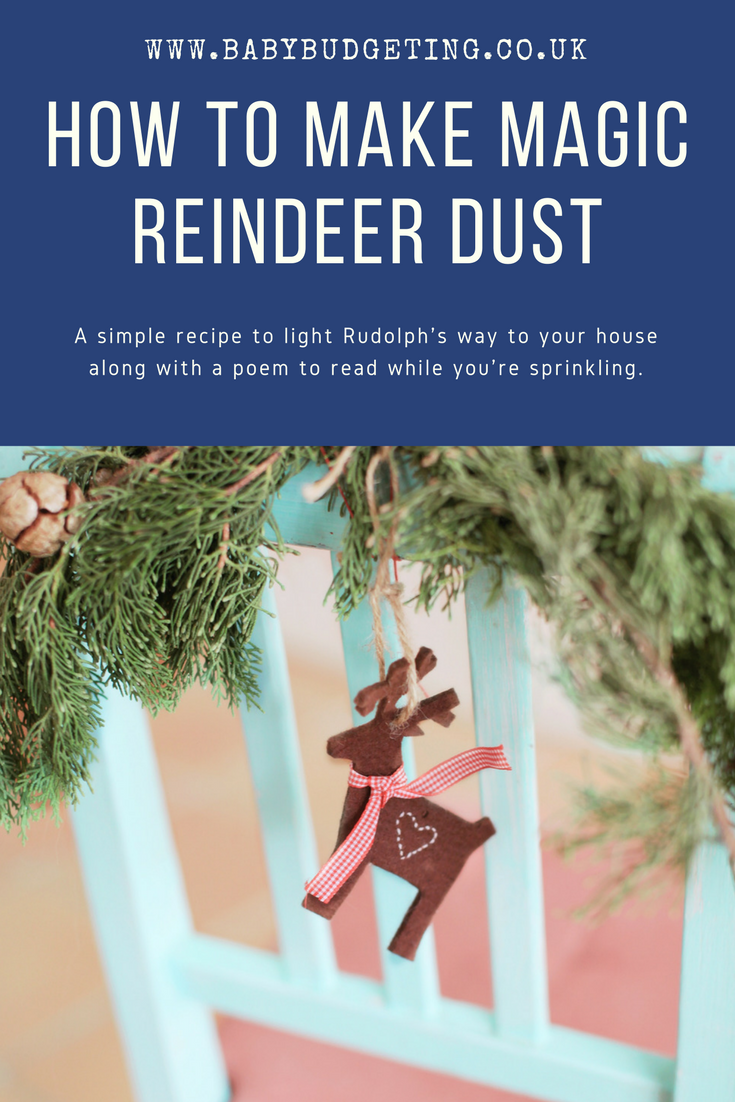 How to make Reindeer Dust, magic reindeer dust poem