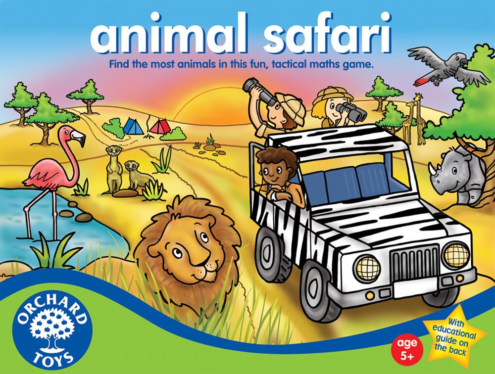 Animal Safari by Orchard Toys