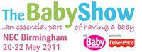 WIN 5 PAIRS OF TICKETS TO THE BABY SHOW AT BIRMINGHAM'S NEC