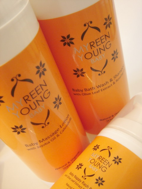 Win Myreen Young Organic Mummy and Baby Skincare Products