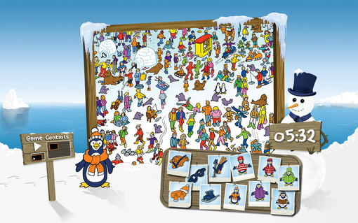 If you like Where's Wally you will love Find Fynn (online and free!)
