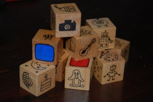 How to make story cubes for storytelling