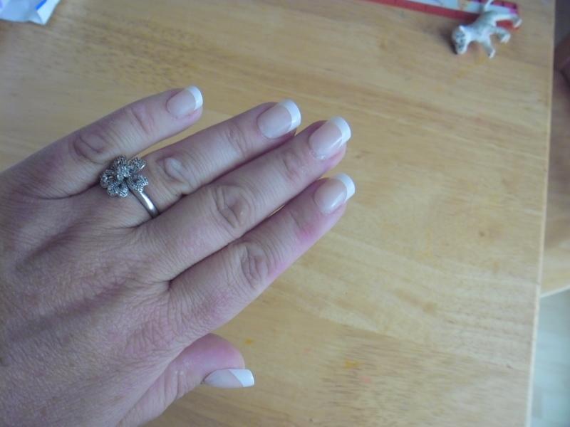 5 sets of Nailene nails and adhesive tabs to give away