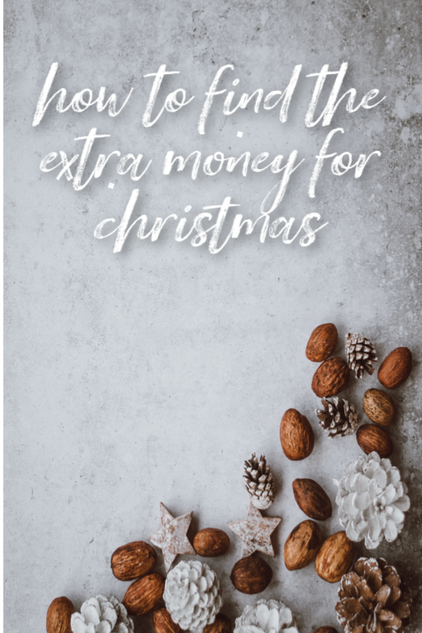 How to find the extra money for Christmas   (A poem)