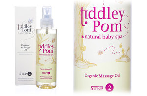 Win: Tiddley Pom baby spa range worth £53