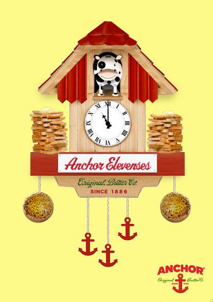 Win some fabulous 'elevenses' prizes with Anchor butter