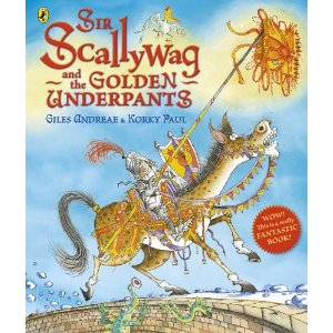 Win a copy of Sir Scallywag and the Golden Underpants