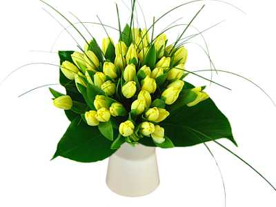 Win 1 of 2 Spectacular Lemon Tulip  Bouquets for Mothers Day