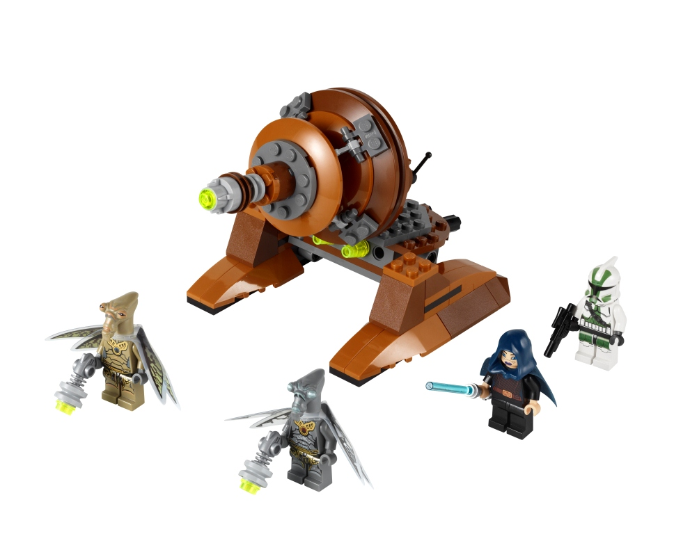 Launched Lego Star Wars