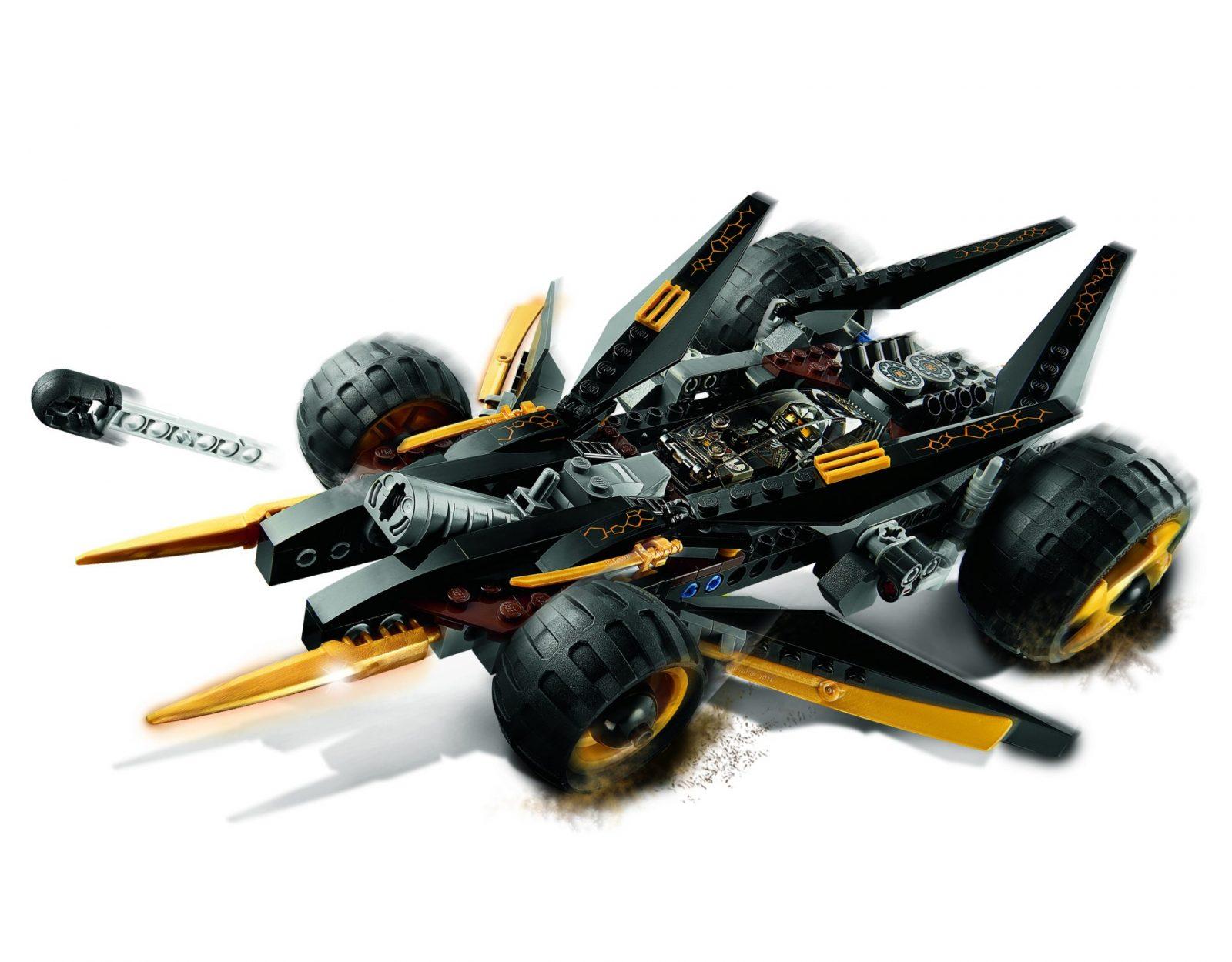 Lego Ninjago Cole's Tread Assault Review