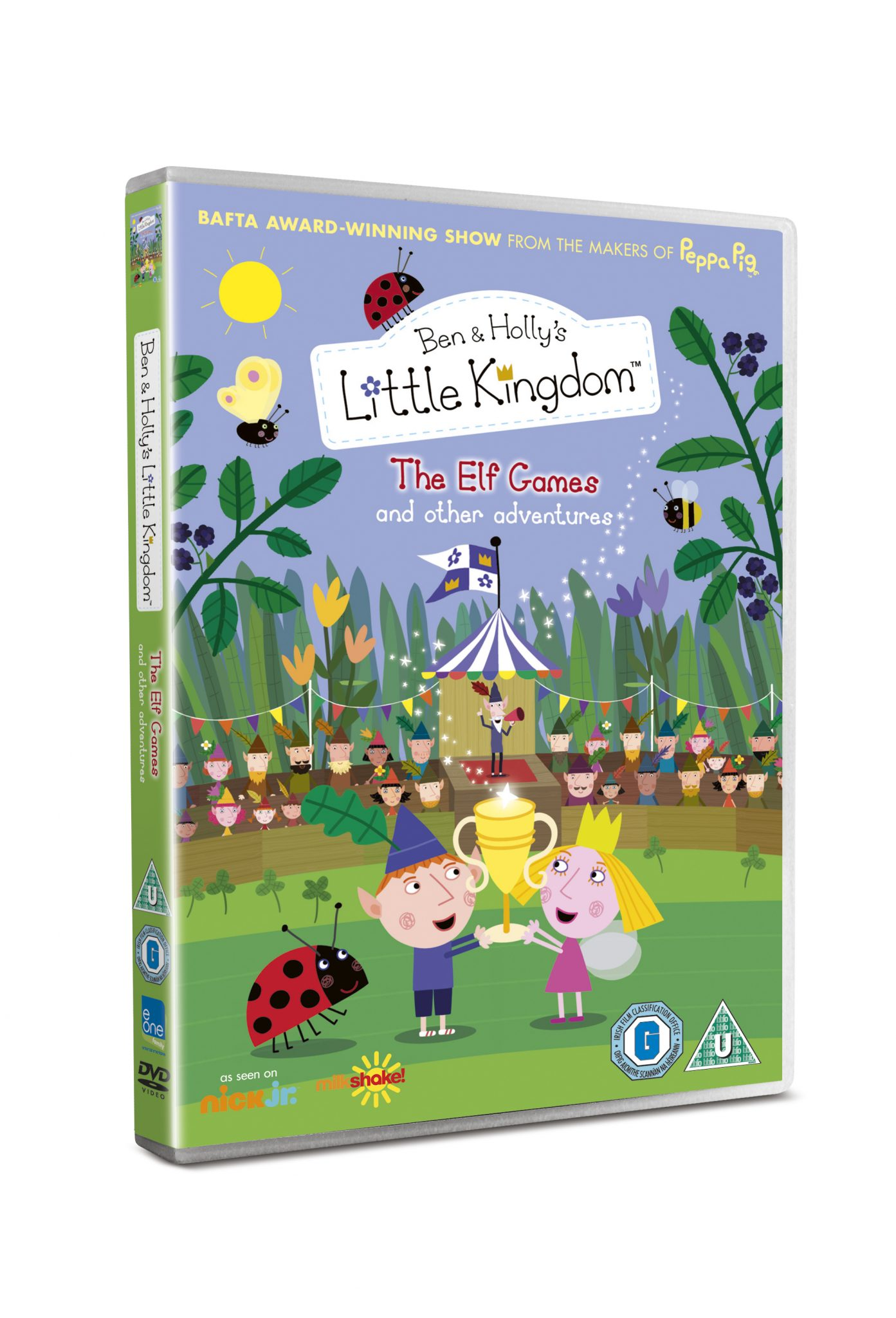 Win Ben and Holly's Little Kingdom The Elf Games DVD