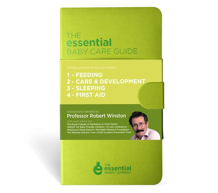 Win the Essential Parent Baby Care Guide 4 dvd box set (worth £35)