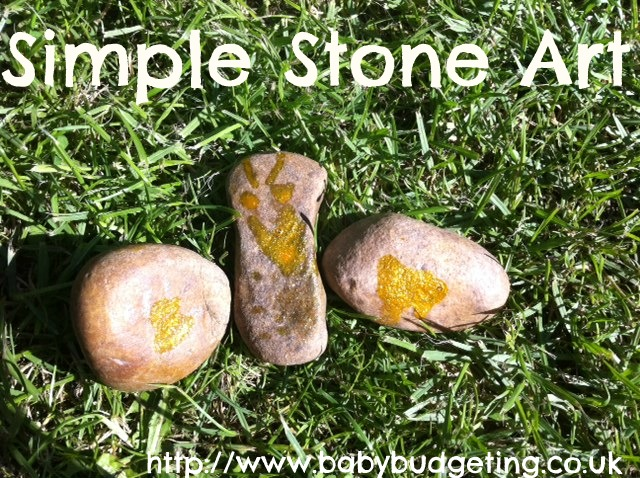 Stone Crafts with Kids