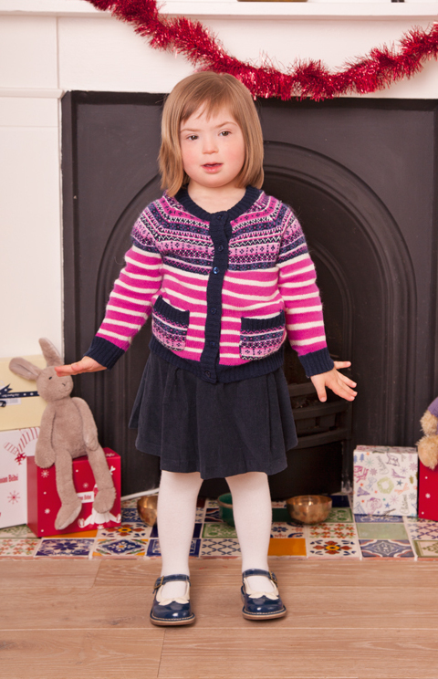 'Different isn't any less wonderful.' Children, Downs Syndrome and Dressing Well