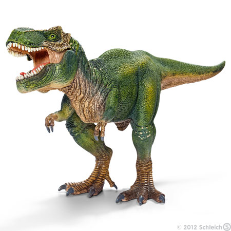 Why do kids love to play with dinosaurs?
