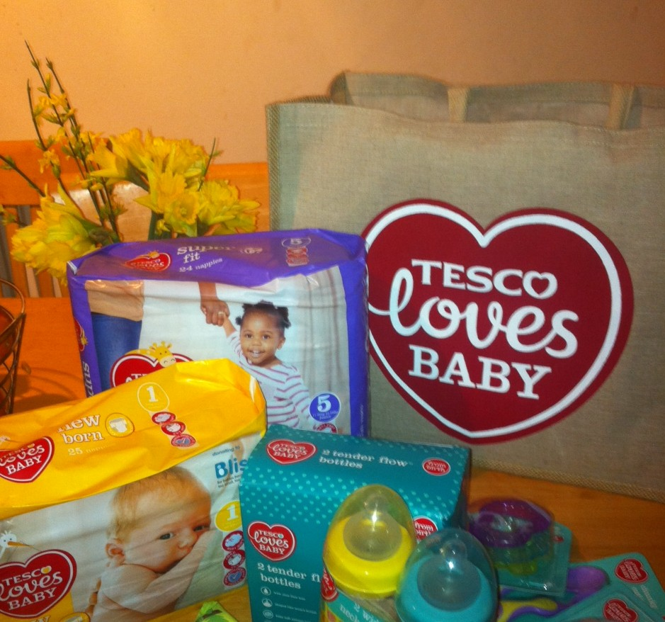 Tesco Loves Baby – a new range of products and some exciting news