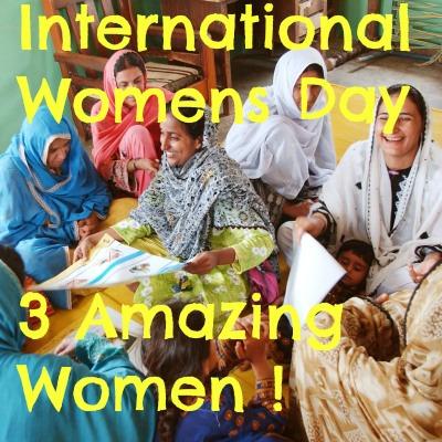 Celebrating Sightsavers & International Women's Day
