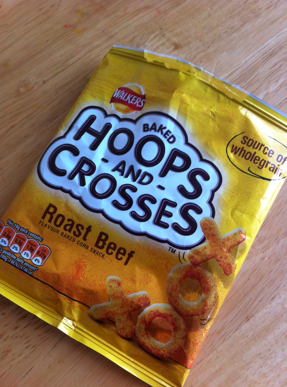 Walkers Hoops and Crosses Review