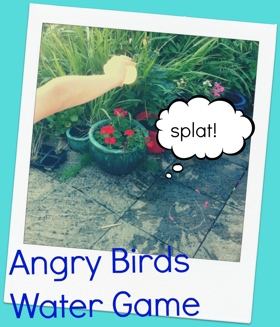 The Angry Birds Water Game #savesummer