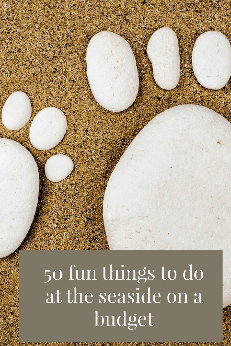 50 fun things to do at the seaside on a budget