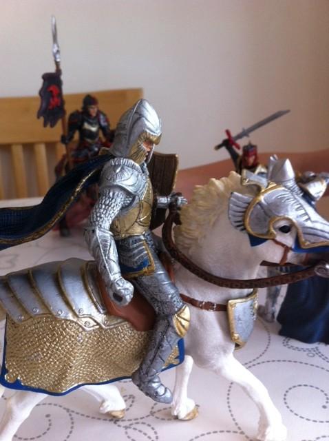 Schleich Dragon knights