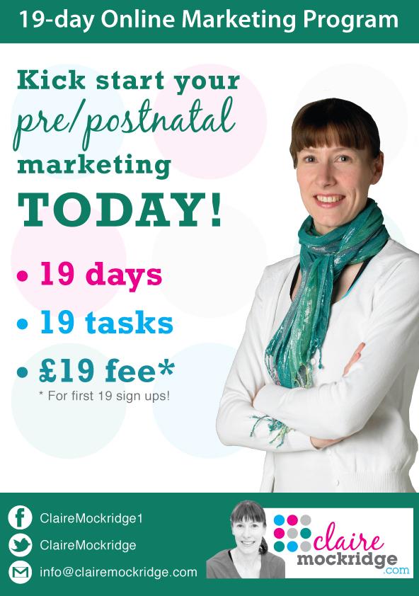 pre/postnatal marketing