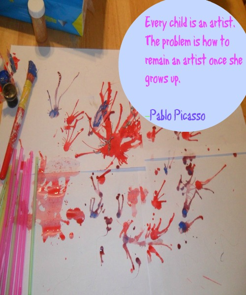 Pablo Picasso, every child is an artist