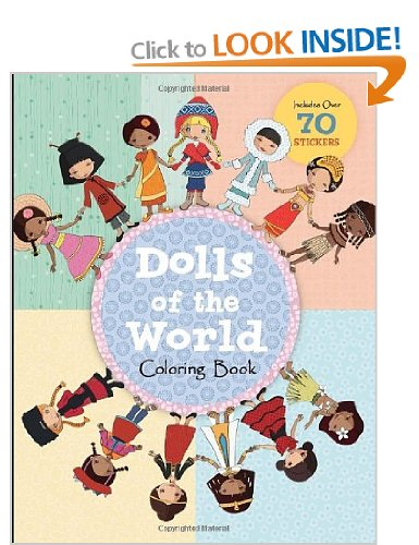 Good Value Gift Ideas: World Dolls Colouring Book