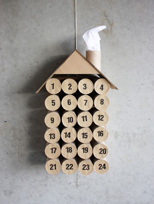 Easy DIY Advent calenders