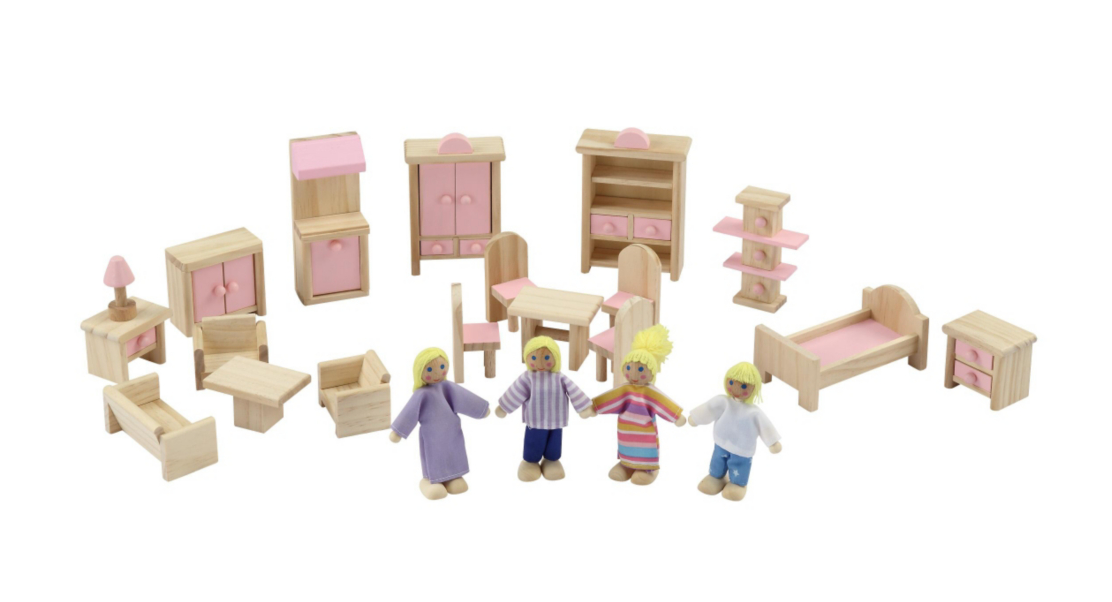Review: The ASDA Wooden Dolls House