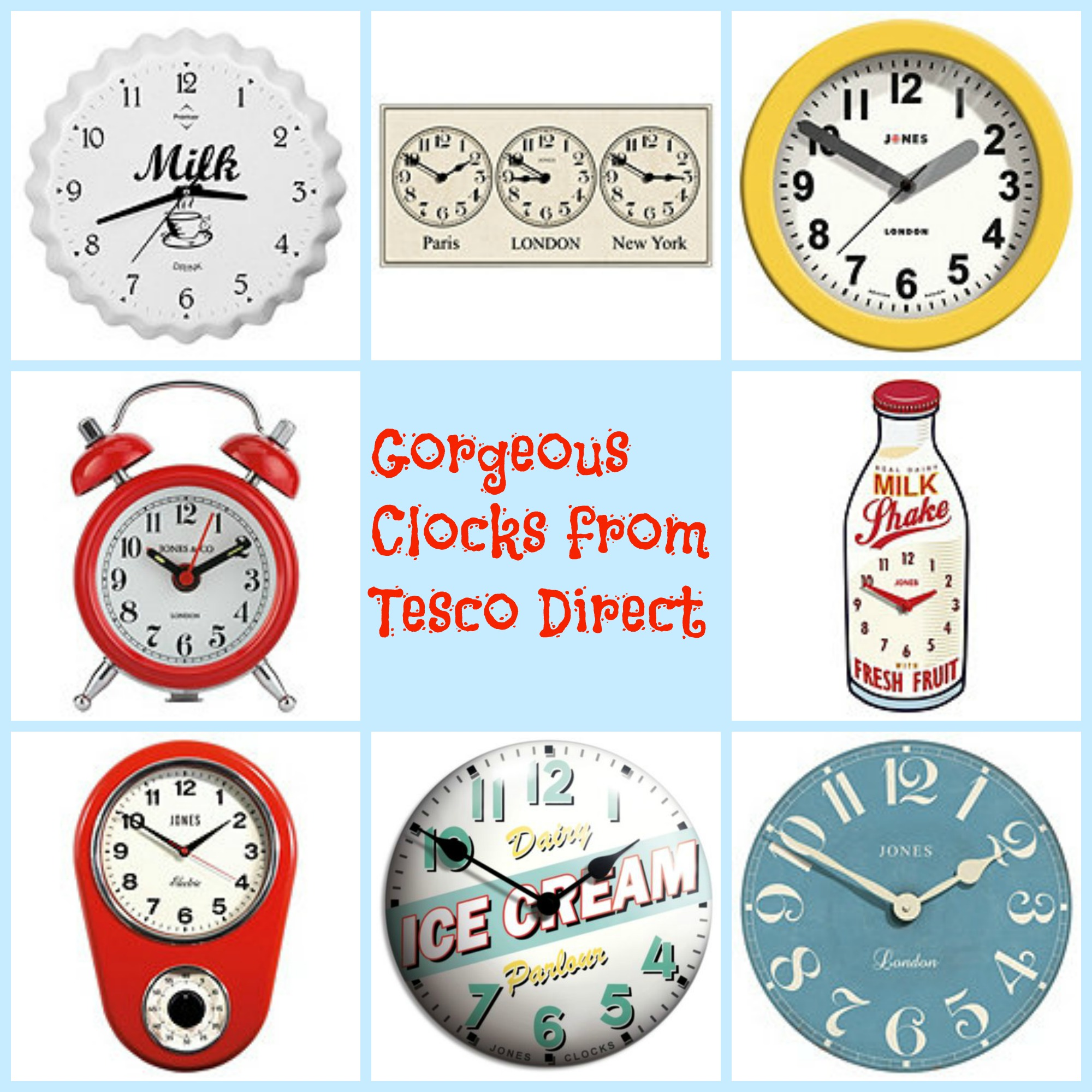 Clocks from tesco amipublicfo Image collections