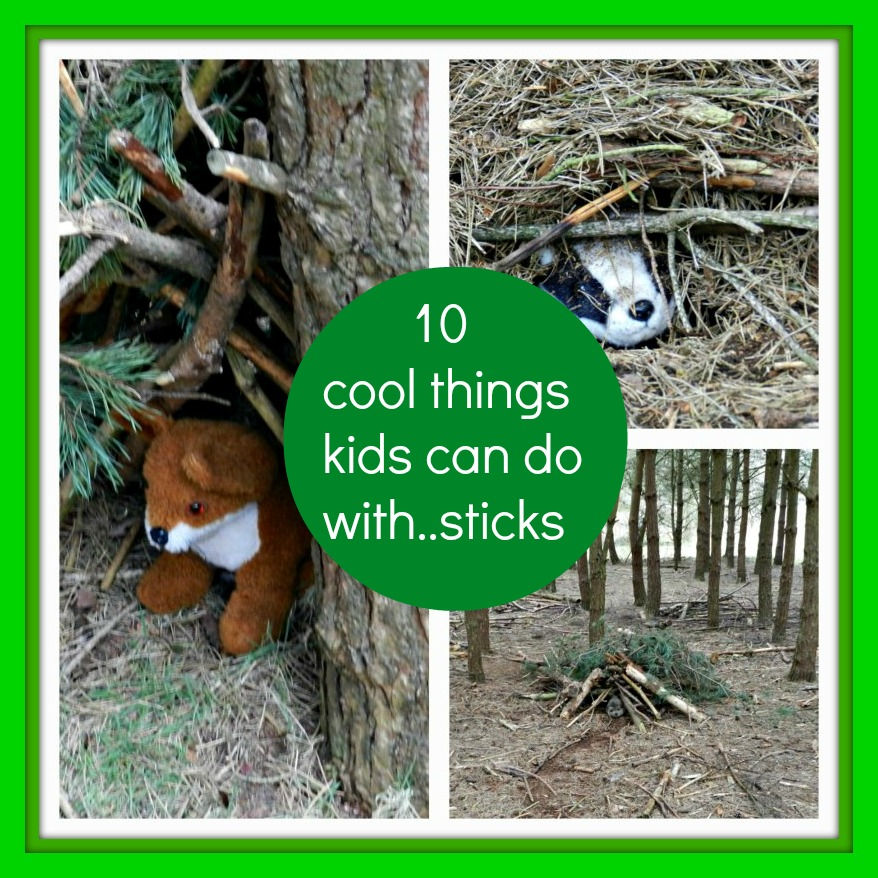 10 Cool Things Kids Can Do With Sticks