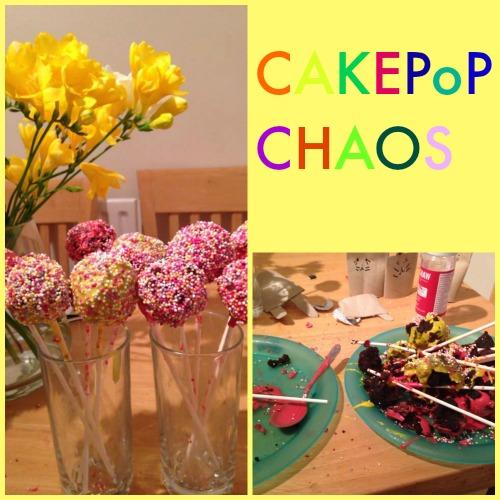 Cake Pop Chaos (aka behind the scenes food blogging)