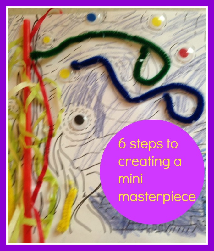 Mini Masterpiece: Inspired by Van Gogh