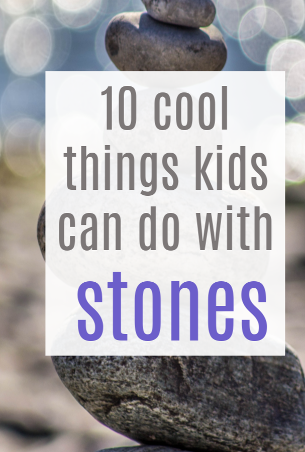 things kids can do with stones