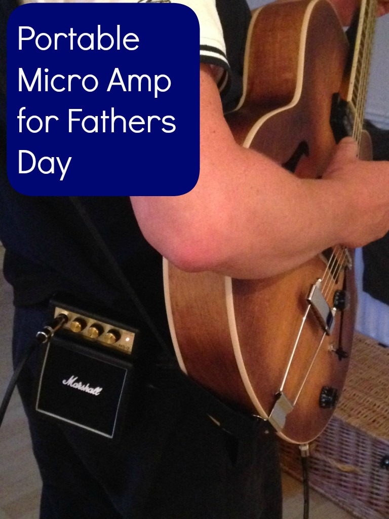 Portable Micro Amp for Guitarists (Fathers Day!)