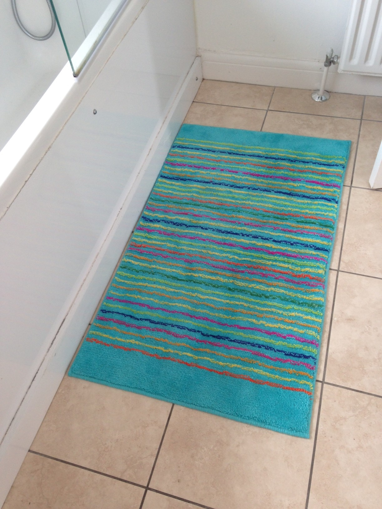 Gorgeous Washable Cool Stripes Rug from Esprit