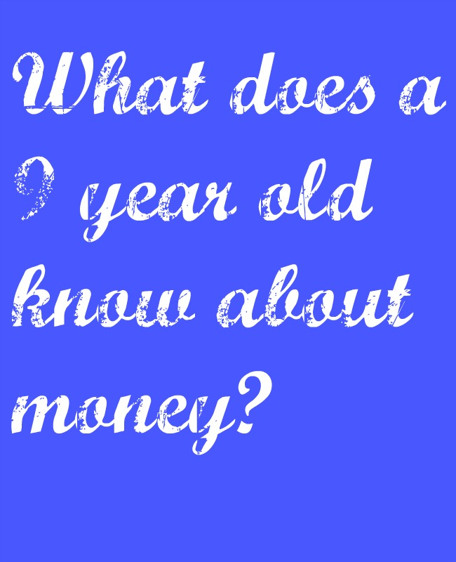 What does a 9 year old know about money? (We asked Frankie…)