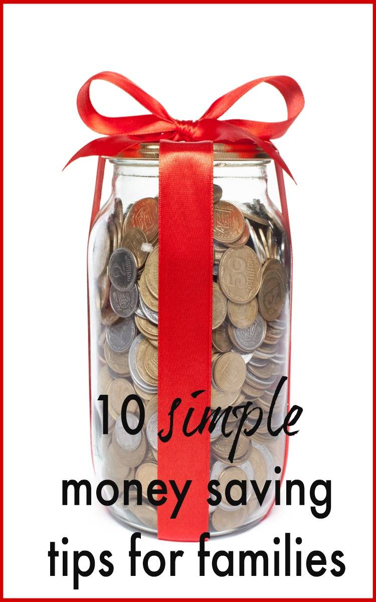 10 money saving tips for families