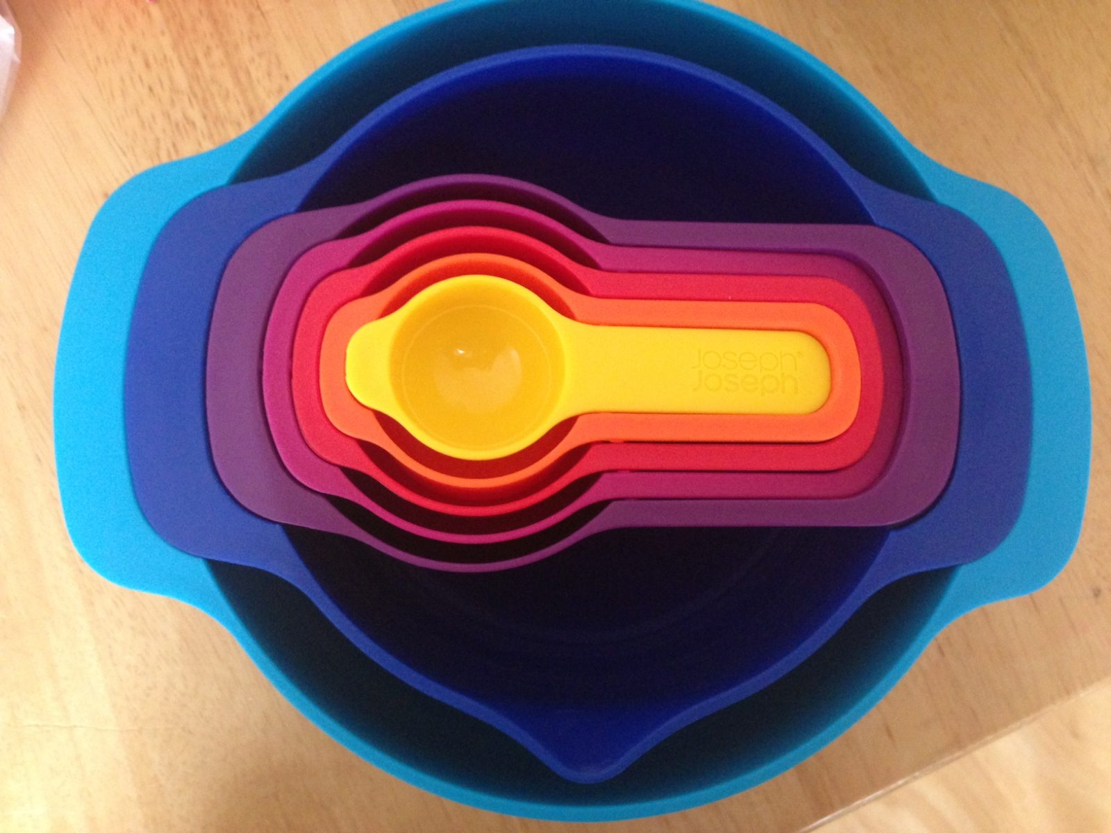 Win a Joseph Joseph rainbow bowl set