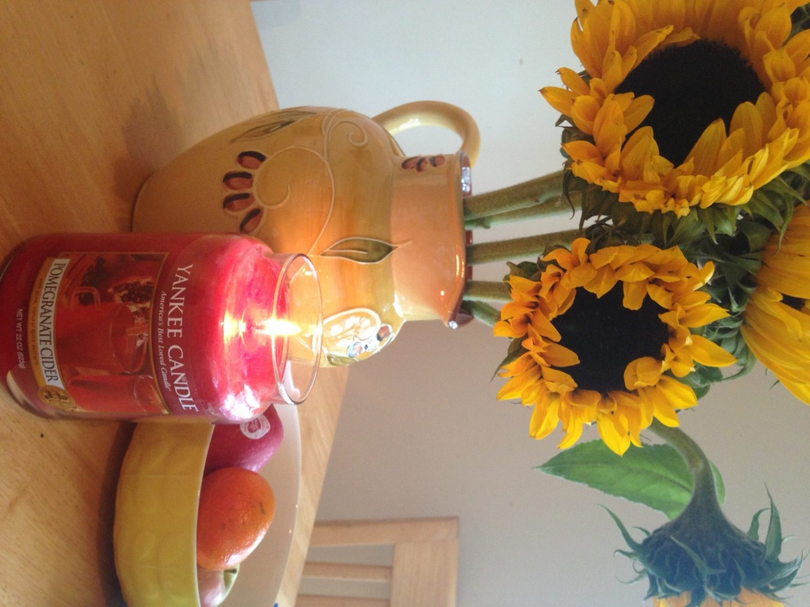 An Autumn Candle