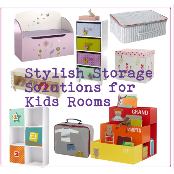 Stylish Storage for Kids Rooms