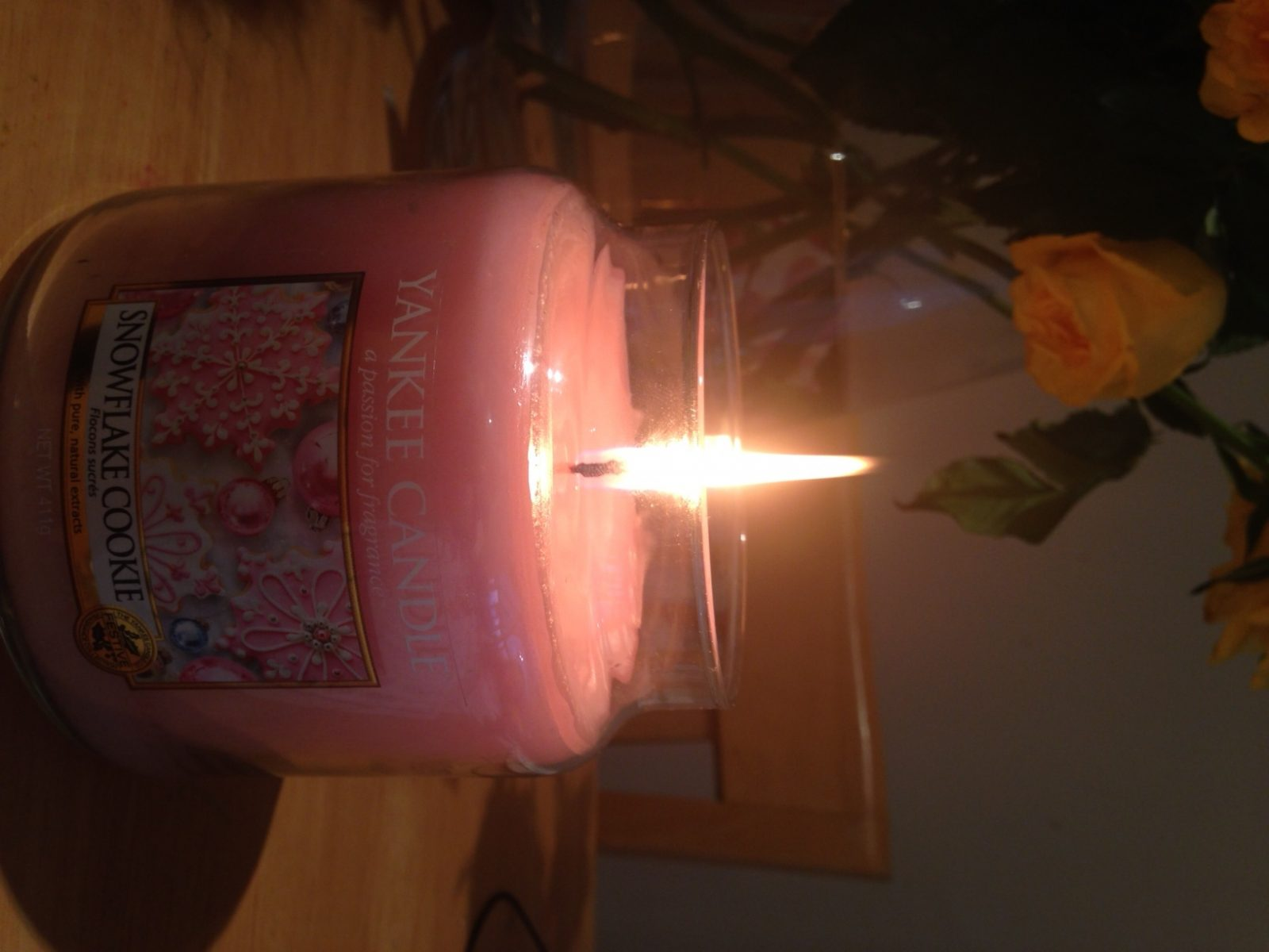 Snowflake Cookie Yankee Candle