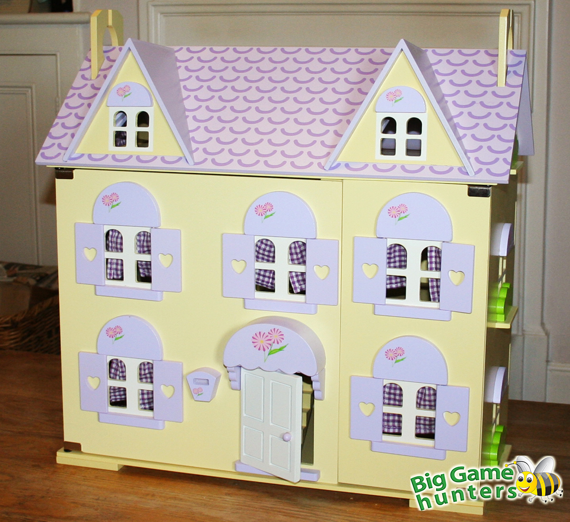Win a Berrybee Cottage Dolls House & 3 Furniture Sets