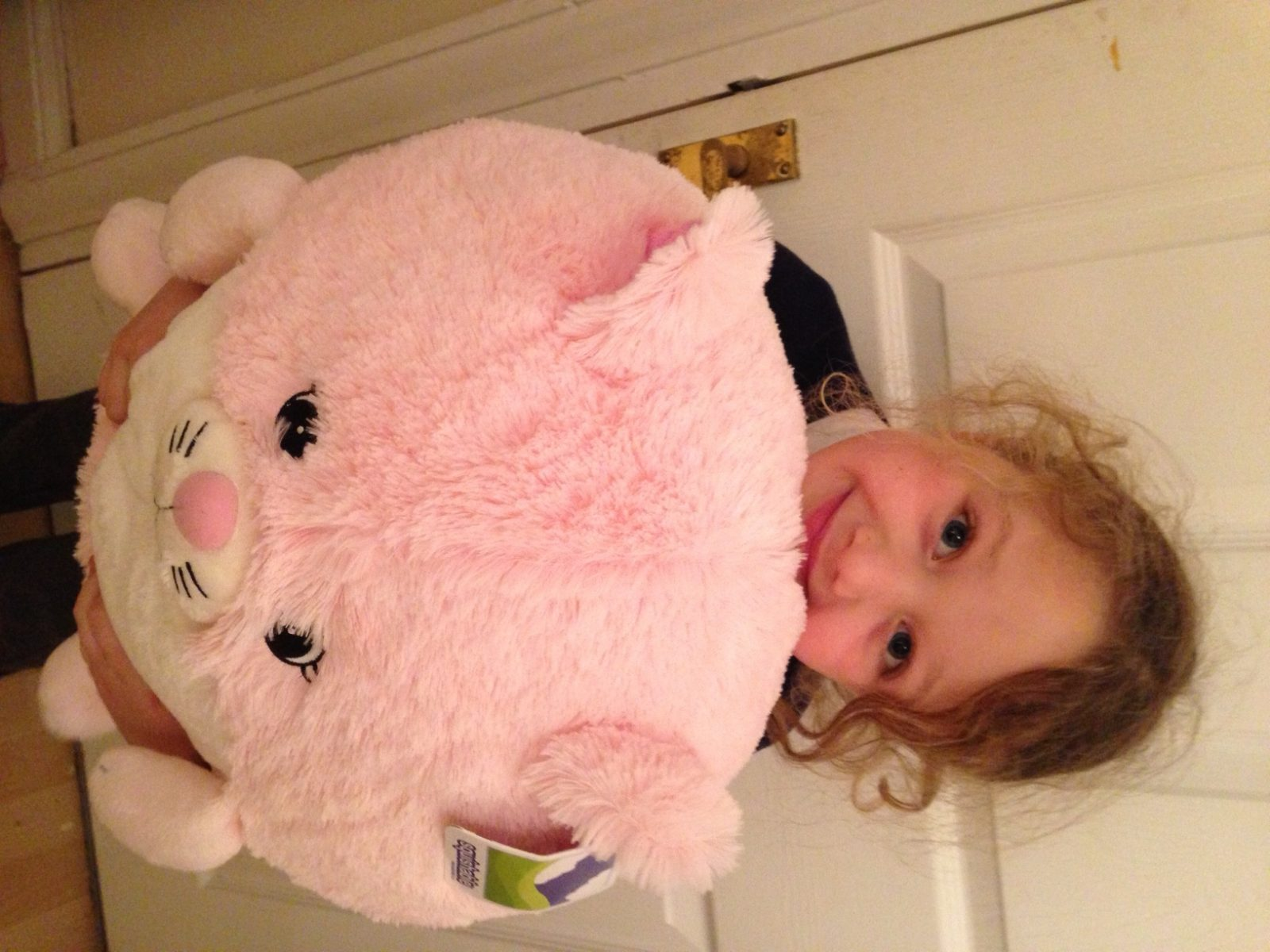 Best hug ever from a Squishable.